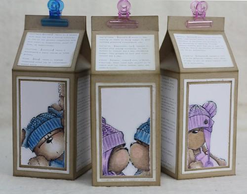 Teddy Bo & Bea Cartons