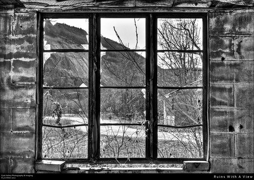 abandoned broken window ruins cement maryland block hdr cumberland alleganycounty willsmountain canont1i