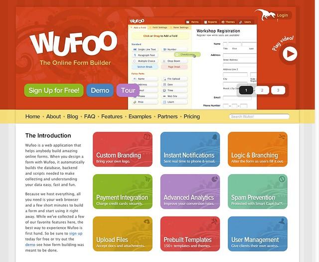 Wufoo v3 Redesign