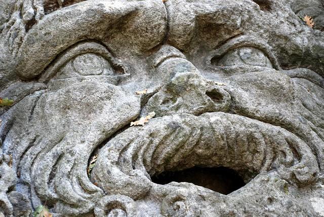Sacro Bosco de Bomarzo. El parque de los monstruos, Bomarzo, Italia