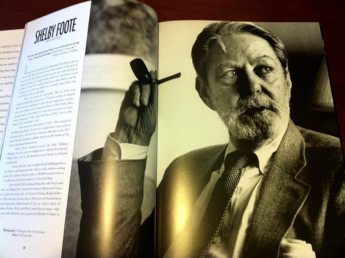 "Shelby Foote in ""Memphians"""