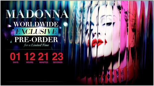 Madonna MDNA iTunes Exclusive
