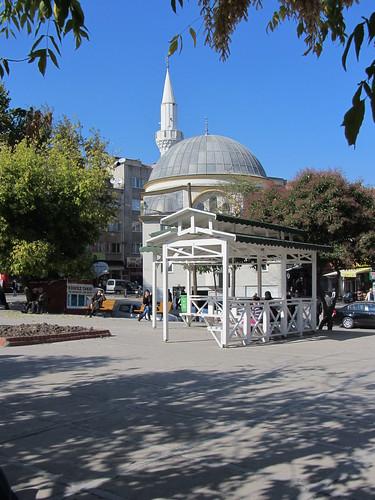 Balikesir: white mosque (3=