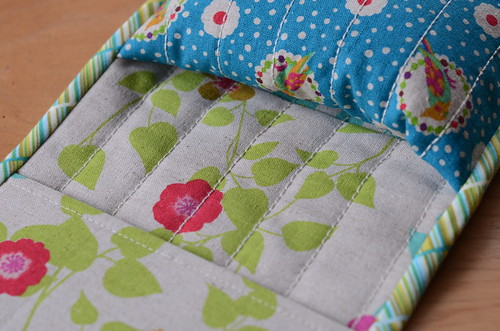 Armrest Pincushion Caddy by Poppyprint