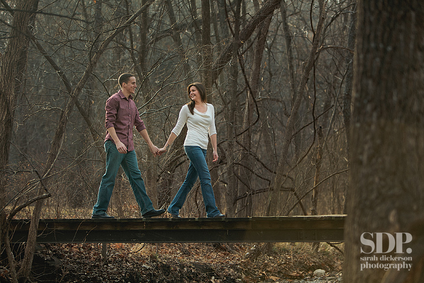 Shawnee Mission Park engagement photographer