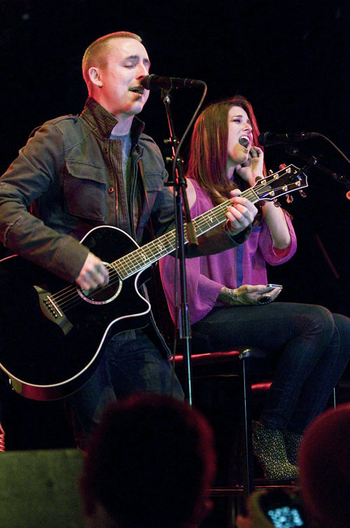 Ryan Key and Cassadee Pope