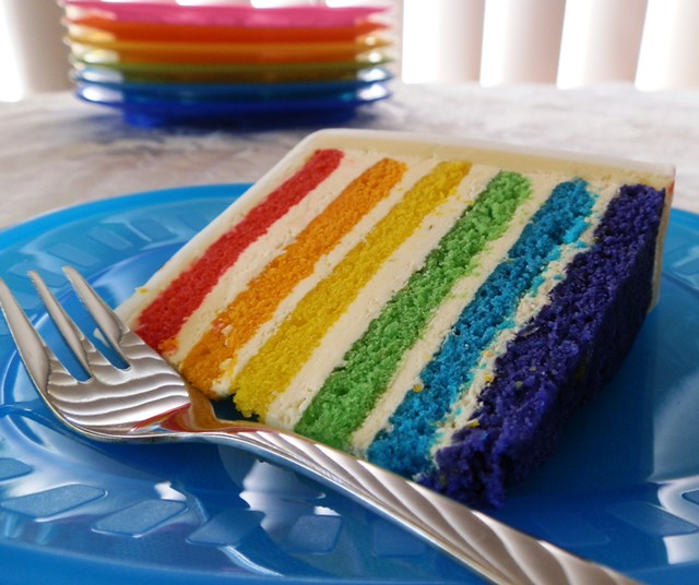 Cake Recipe: Rainbow Cake Recipe From Scratch