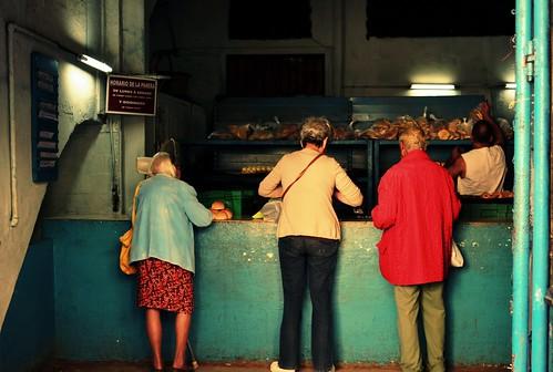 A bakery in Havana