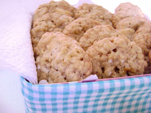 Cookies deliciosos de aveia