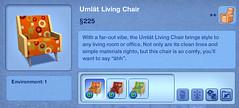 Umlat Living Chair