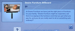 Desire Furniture Billboard