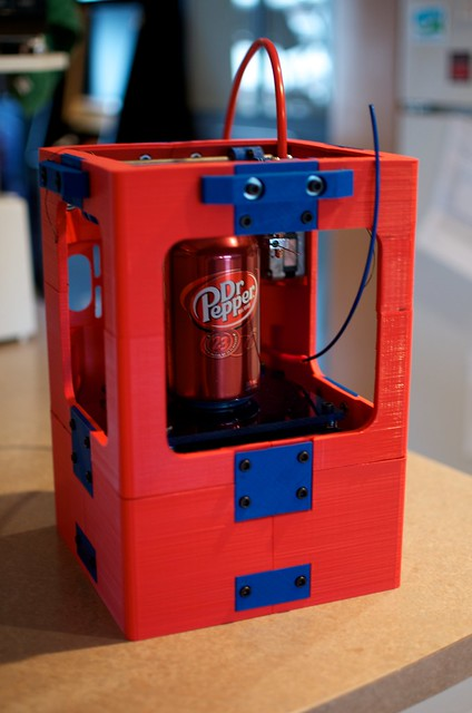 Brad's fully printable mini 3d printer