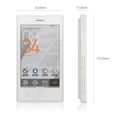 cowon propose un baladeur mp3 sous android le z2 plenue. Black Bedroom Furniture Sets. Home Design Ideas