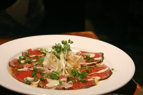 Guu w/ Garlic, Vancouver - Tuna Tataki
