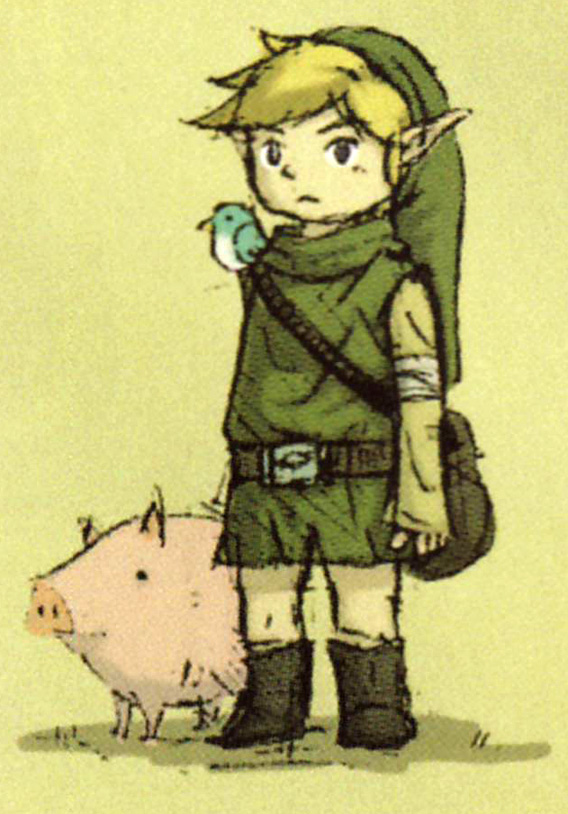 Young Link Concept Art