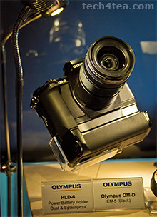 Newly unveiled Olympus OM-D E-M5