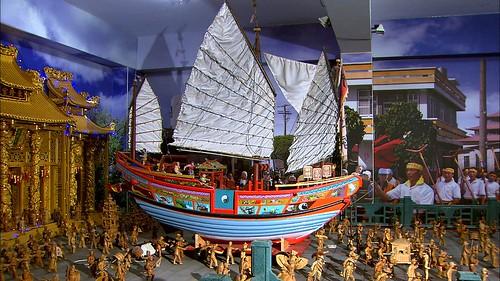 王船祭典模型,花費4年打造!