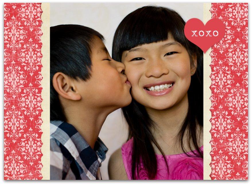Valentine card Front