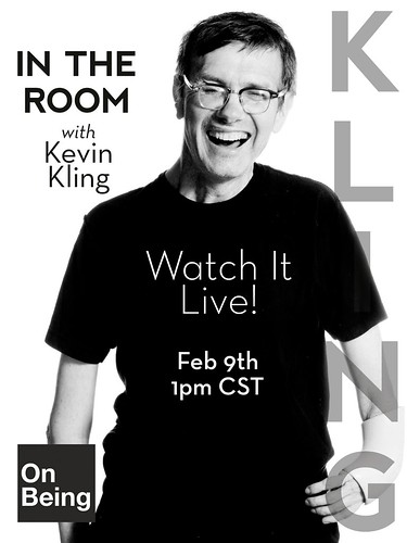 Live Video: In the Room with Kevin Kling and Krista Tippett