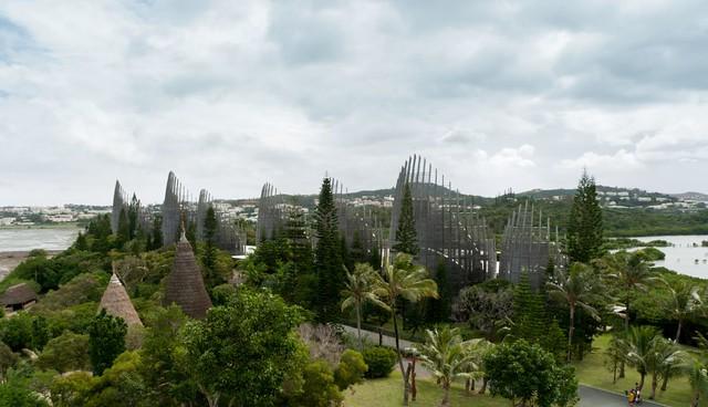 Renzo Piano - Tjibaou Cultural Center #1