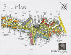 Harbourside site map