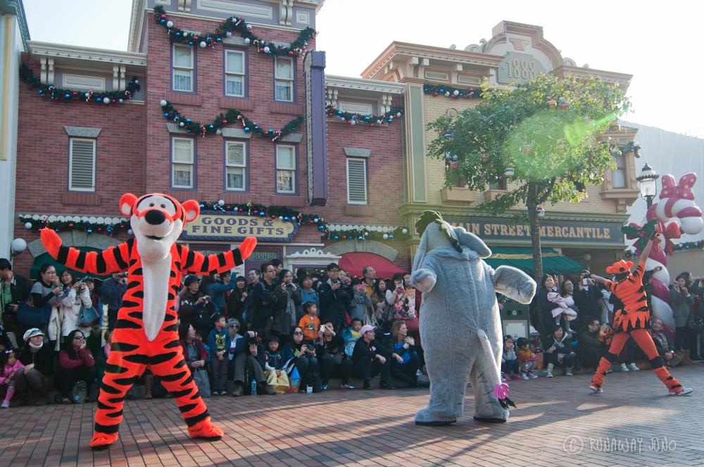 5th anniversary parade Tiger