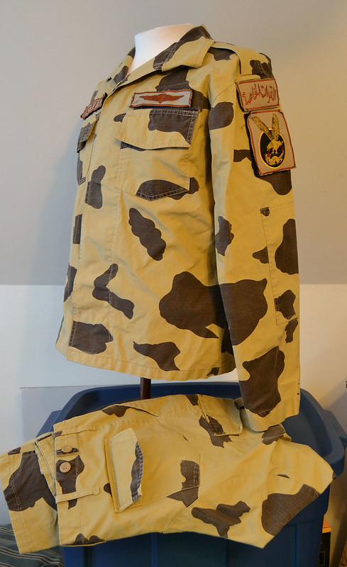 Egyptian Army Thunderbolt Camouflage Uniform 13317321585_0938f1bf47_c