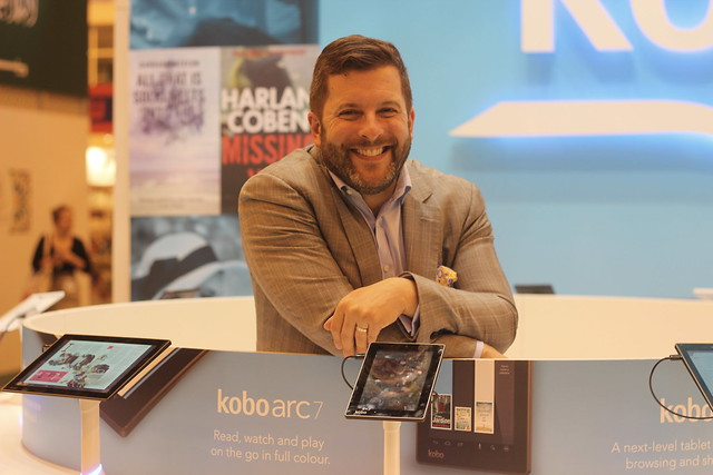 Michael Tamblyn (Kobo) - London Book Fair 2014