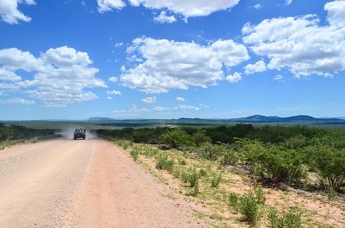 Route vers Opuwo