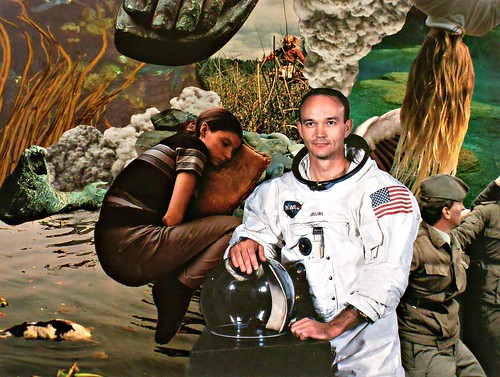 Astronaut collage - Michael Collins