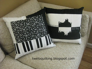 Downton Abbey & Music pillows