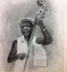 #drawing #pencildrawing #desenho #cuba #art #sketchbook #musician #illustration
