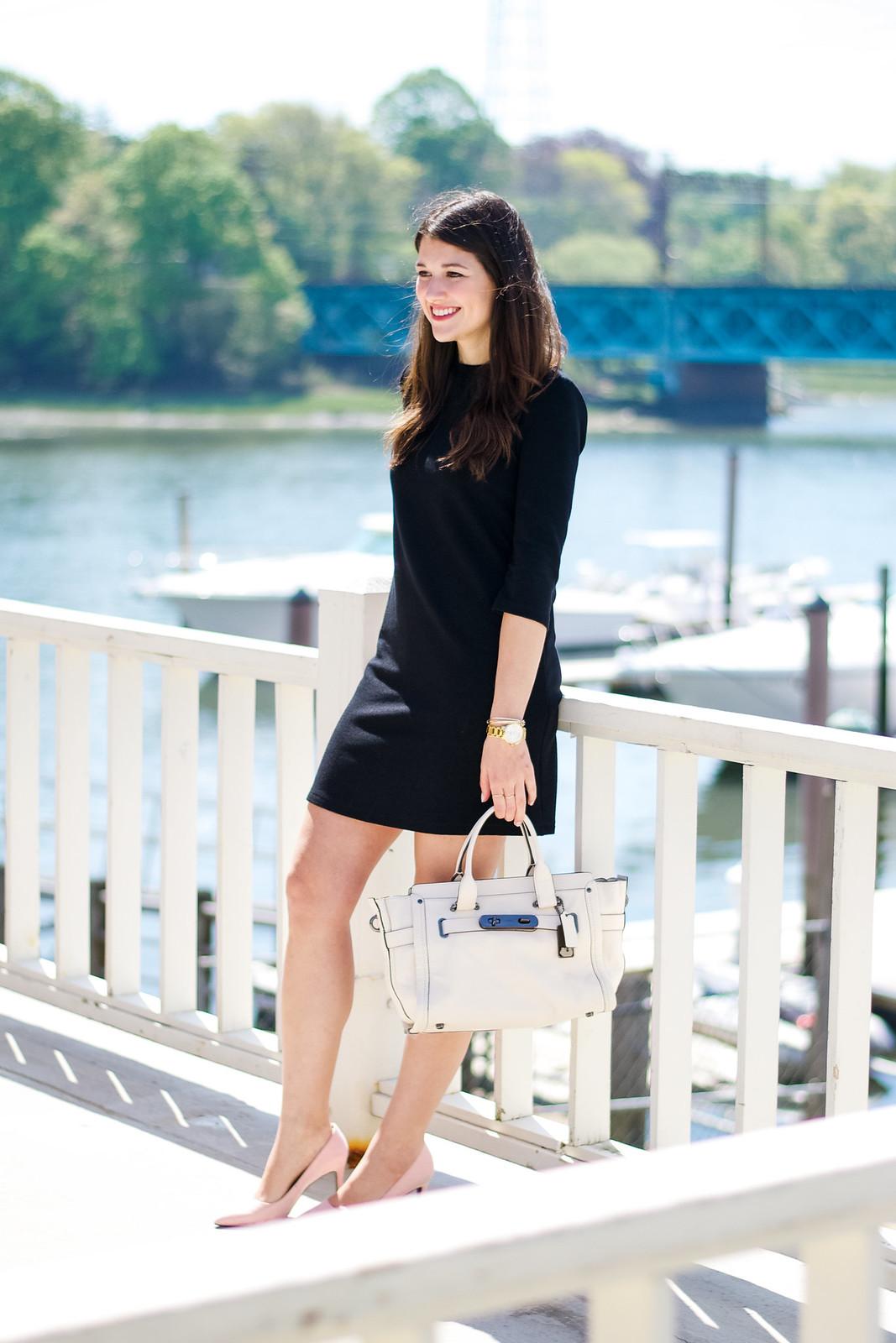 Dress Outfit Coach Bag