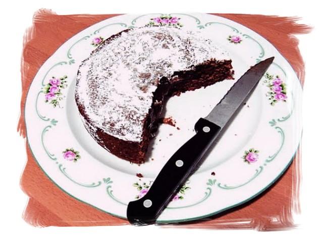 pastel de chocolate sueco