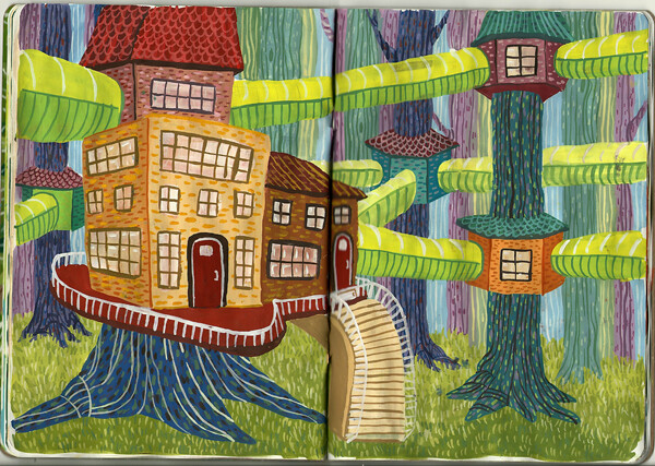 Treehouse Paintings
