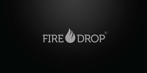 Logo - Fire Drop by chambe.com.br