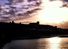 Dracula's Abbey - Another atmospheric sky iPhone snap