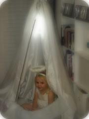 Angel play tent