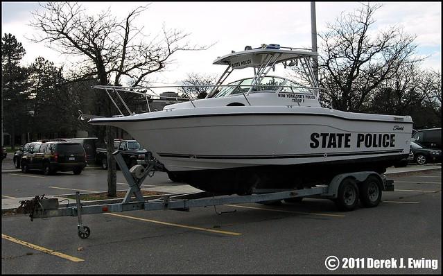 New York State Police Troop F  Patrol Boat  Flickr