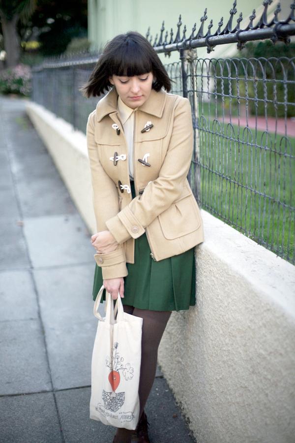 calivintage: school girl