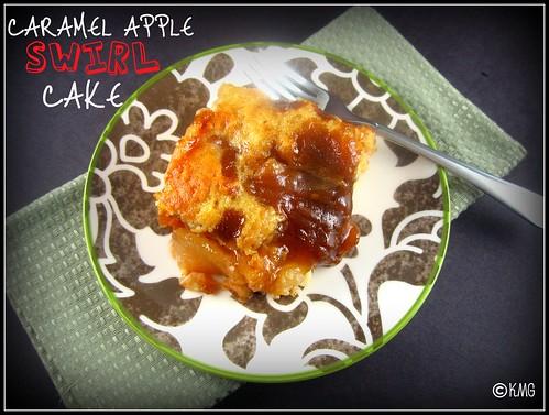 Caramel Apple Swirl Cake