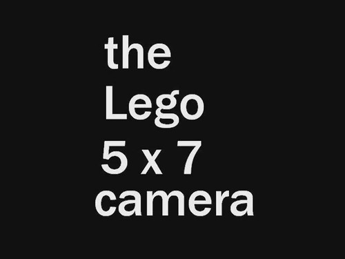 Lego Camera movie