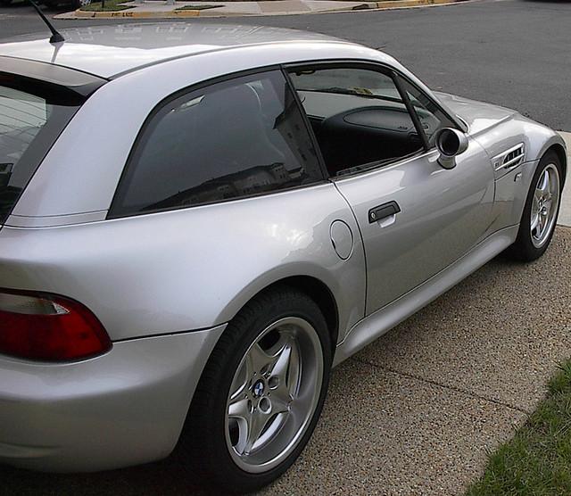2000 M Coupe | Titanium Silver | Black