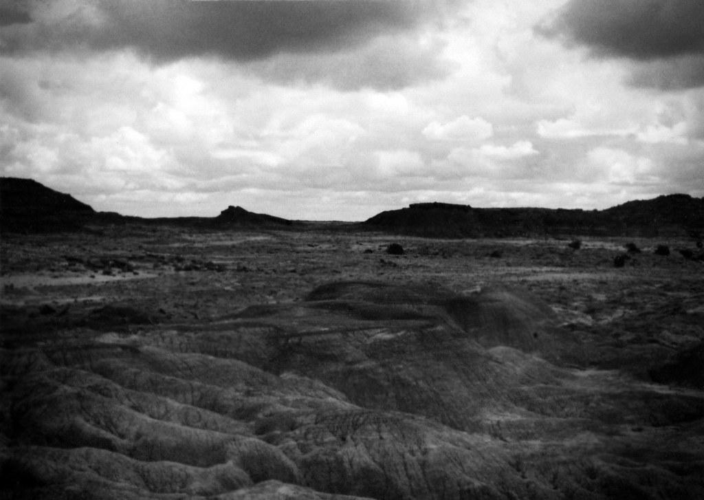 1990, Painted Desert/Petrified Forest, Arizona