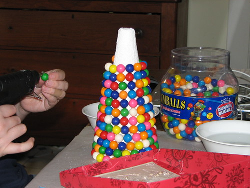gumball candy tree