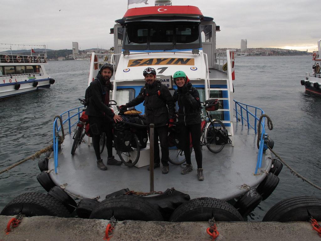 Navegant el Bosfor cap a Asia II (Turquia)