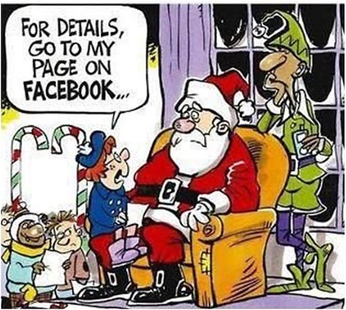 Santa y Facebook