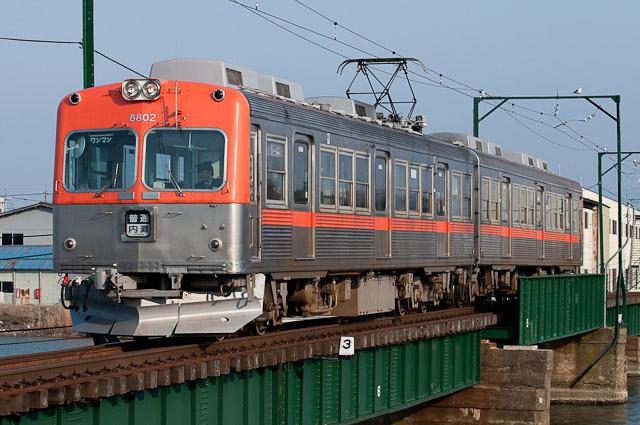 北陸鉄道浅野川線8800系 8802F 0329