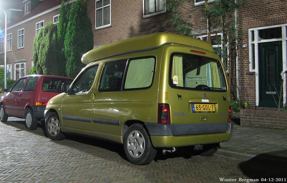 Connu Citroën Berlingo 1.4i Multispace camper 2001 - a photo on Flickriver ZX01
