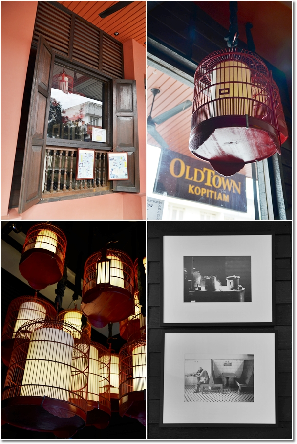 Different Interior Design of Old Town Kopitiam